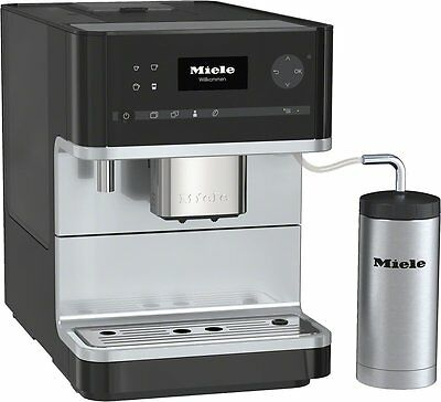 MIELE CM 6310 Stand-Kaffeevollautomat / Obsidian schwarz / OneTouch-Funktion
