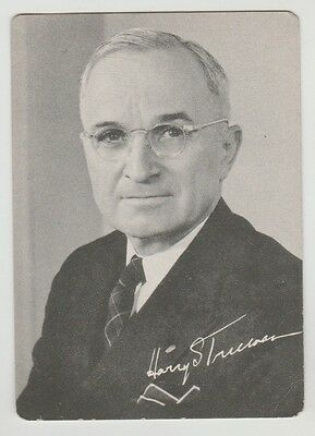 1948 Forward With Harry Truman Democratic National Committee State Votes Card