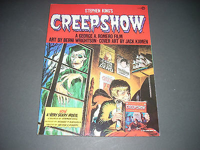 Stephen King's CREEPSHOW Graphic Novel NAL 1982 first edition 1st ptg Mint
