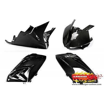 BMW S1000RR Fairing kit Racing Carbon Cockpit Spoiler Side fairing