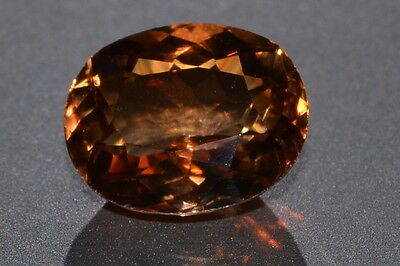 Incredible 10.86ct VVS Natural Earth Mined Imperial Topaz Gemstone