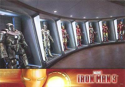 Upper Deck 2013 Iron Man 3 Common card SET of 60! w/wrapper!