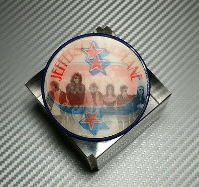 "Jefferson Airplane - ORIGINAL 1969 Volunteers PROMO Vari-Vue ""Flasher"" Pinback!"