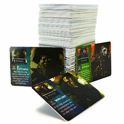 Wizkids Pirates At Ocean's Edge Card Lot of 130 Un-Punched Crew