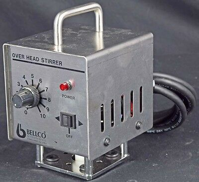 Bellco Glass 7764-00110 Portable Variable Speed Overhead Stirrer Drive