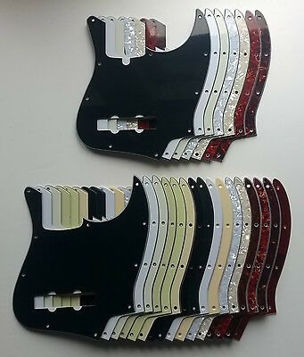Jazz Bass Pickguard to fit US Standard - various colours, 1, 3 4 ply