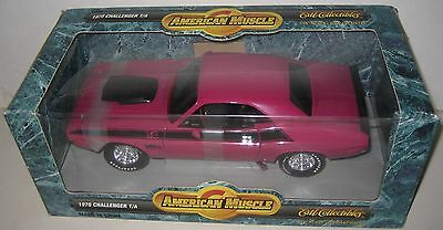ERTL 1/18 1970 Dodge Challenger T/A Pink American Muscle MIB