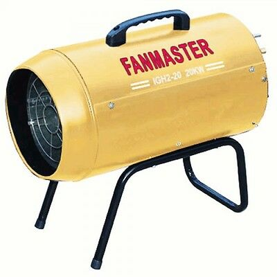Fanmaster 20kW Portable Industrial / Commercial LPG Fan Heater IGH220