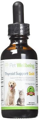 Pet Wellbeing Thyroid Support Gold for Cats & dogs A Natural supplement, Herbal