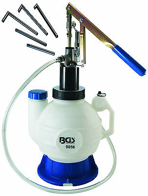 BGS Germany Trade 7 Litre Oil Filler Hand Pump Diff Oil Gearbox Oil Transmission