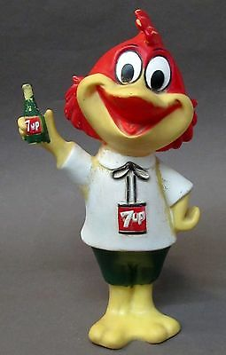 orig 1959 FREDDY FRESH UP 7UP SODA squeeze toy ad doll figure ADVERTISING mascot