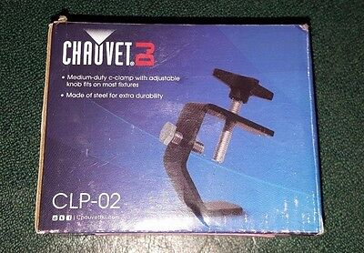 Chauvet DJ CLP-02 C-Clamp for DJ/Lighting Use, Chauvet Lighting