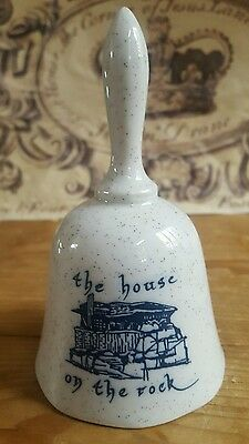 THE HOUSE ON THE ROCK Souvenir BELL Wisconsin Attraction Collectible • Japan