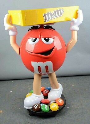 Red M&M Candy Character Large Store Display 3 ft  tall.