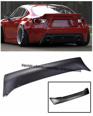 For 13-Up Scion FRS Subaru BRZ Bunny Style V3 Rear Trunk Lip Spoiler Wing Kit