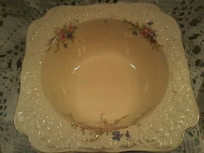 "Crown Ducal Open Serving Bowl Florentine ""Marie"""
