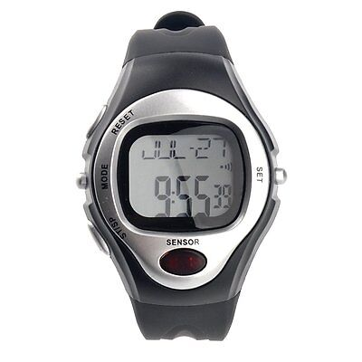 Sport Stop Watch Calorie Counter Heart Rate Monitor New C5M8