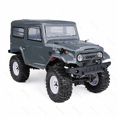 HSP 2.4Ghz 1/10 4WD RC Rock Crawler Off Road 136100 13693 LED Light W
