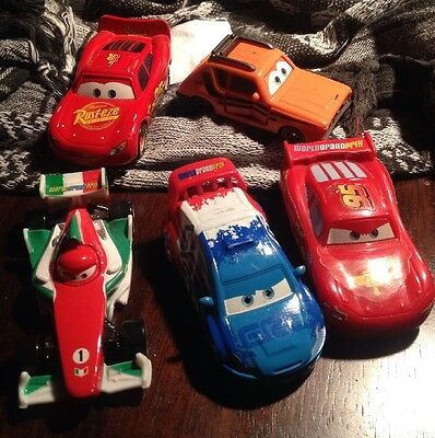 CARS FROM THE KIDS CAR MOVIE x5