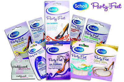Scholl Party Feet Gel Cushions & Hollywood Fashion Tape & Nipple Covers • NEW •