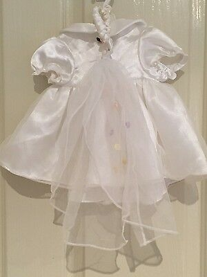 Bear factory wedding dress & veil - fits Build A Bear