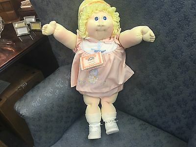 SOFT SCULPTURE~Cabbage Patch Kid/Little People~Xavier Roberts Blonde