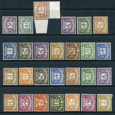 GB Postage Dues Mint Lot of Stamps. Mixed Dates, Watermarks. Cat app £560