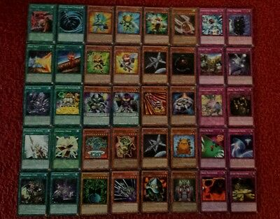 Yu-Gi-Oh Machine Deck - 40 cards complete BONUS 5 cards