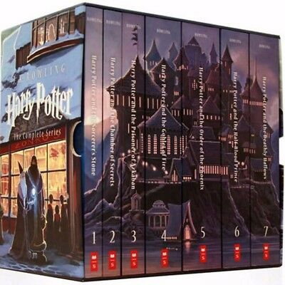 NIB Harry Potter Complete Book Series Special Edition Boxed Set by JK Rowling