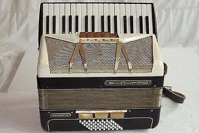 Piano accordion akkordeon  DELICIA ACCORD V 48 bass