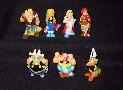 Asterix and the Vikings 2006 Kinder Surprise Figurines Collectibles lot of 7