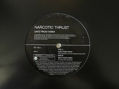 "Narcotic Thrust-Safe From Harm-Vinyl-12""-Single-EP-Record-2002"