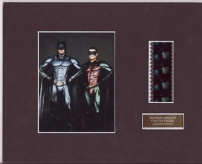 Batman Forever Film Cell Display Limited Edition Rare