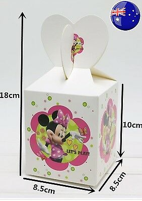 Minnie Mouse Loot Bags Lolly Bags Candy Box Minnie Mouse Party Favours