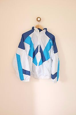 Vintage 80's/90's festival shell suit jacket small