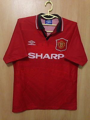 Manchester United 1994/1995 Home Football Shirt Jersey Vintage Umbro