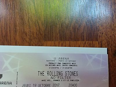 2 places categorie 1 The Rolling Stones UArena