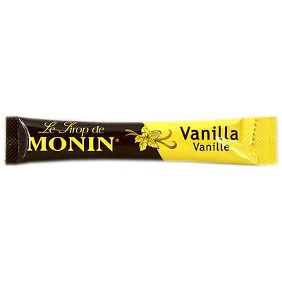16 x MONIN Coffee Syrup VANILLA 15ml = 240ml - ideal for trying out this flavour