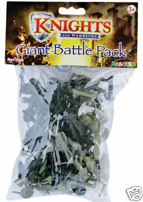 Knights & Warriors Action Figures Set Giant Battle Pack