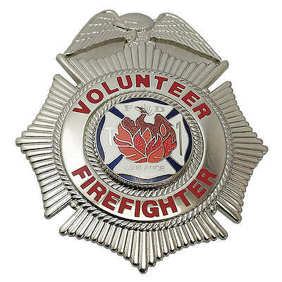 Metal Metal Badge,  Fire-Rescue Industry Type,  Badge Patch Type,  Nickel Color
