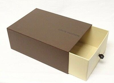NEW Empty 100% Authentic Louis Vuitton Brown Shoe Box