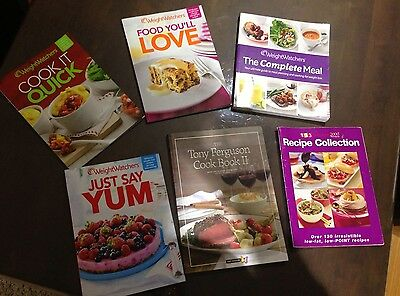 Weight Watchers And The Tony Ferguson Cook Books