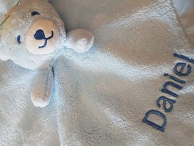 personalised Supersoft Baby Comforter