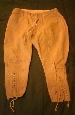 WWI US ARMY CALVARY UNIFORM KHAKI COTTON BREECHES PANTS. Collection of WIECZOREK