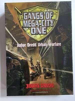 Judge Dredd- Gangs Of Mega-City One Boxed Game BNIB