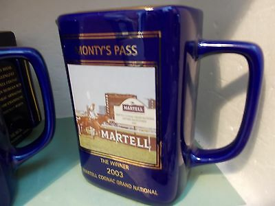 Martell Grand National pub Water Jug monty's pass 2003 number 3795 of 6000