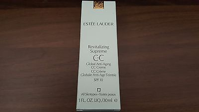 Estee Lauder Revitalizing Supreme Global Anti-Aging CC Creme 30ml - BN & Boxed