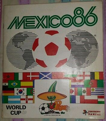 Panini 1986 86 Mexico French Edition Complete Komplett With Rare Poster