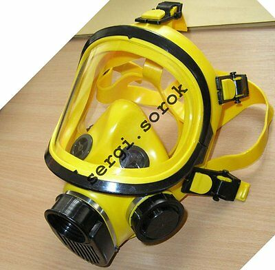 Full Face Worker Yellow Facepiece GENUINE Gas Mask Respirator GP-9 BRIZ 2016