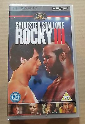 Rocky III 3 (New & Sealed)(Sony PSP UMD Video) Free Postage